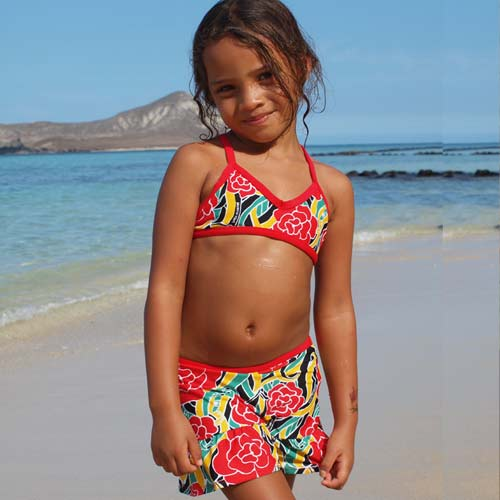 Reversible Sport Top With Skirt Bottom Reggae picture pin.